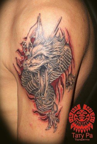 Вы просматриваете изображения у материала: Тату Ра - Студия Татуировки